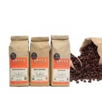 túi cà phê (cafe, coffee) giấy Kraft gắn van thông hơi một chiều