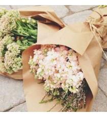 Túi đựng hoa giấy kraft