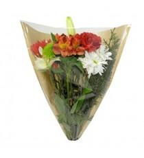 Túi đựng hoa giấy kraft và giấy bóng kiếng