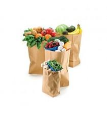túi giấy kraft thực phẩm, siêu thị
